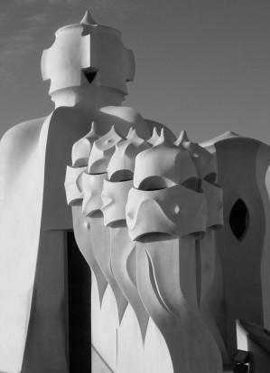 Gaudi's Chimneys