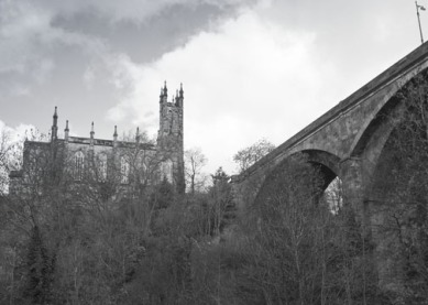 Holy Trinity Church and Dean Bridge
