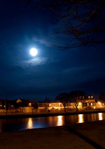 Moonlight on the Esk