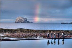 Sunset Rainbow Walkers