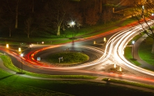 40 Roundabout Night Time
