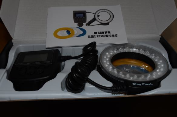 FOR SALE LED RING FLASH SET