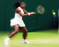 Serena in a Spin