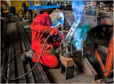 9, Fabrication Welder, Joe Fowler